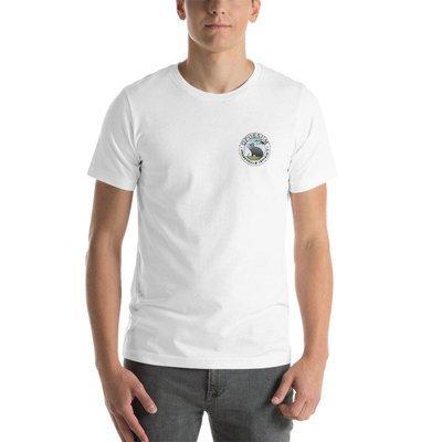 Left Breast Classic Logo - Short-Sleeve Unisex T-Shirt - (13 colors)