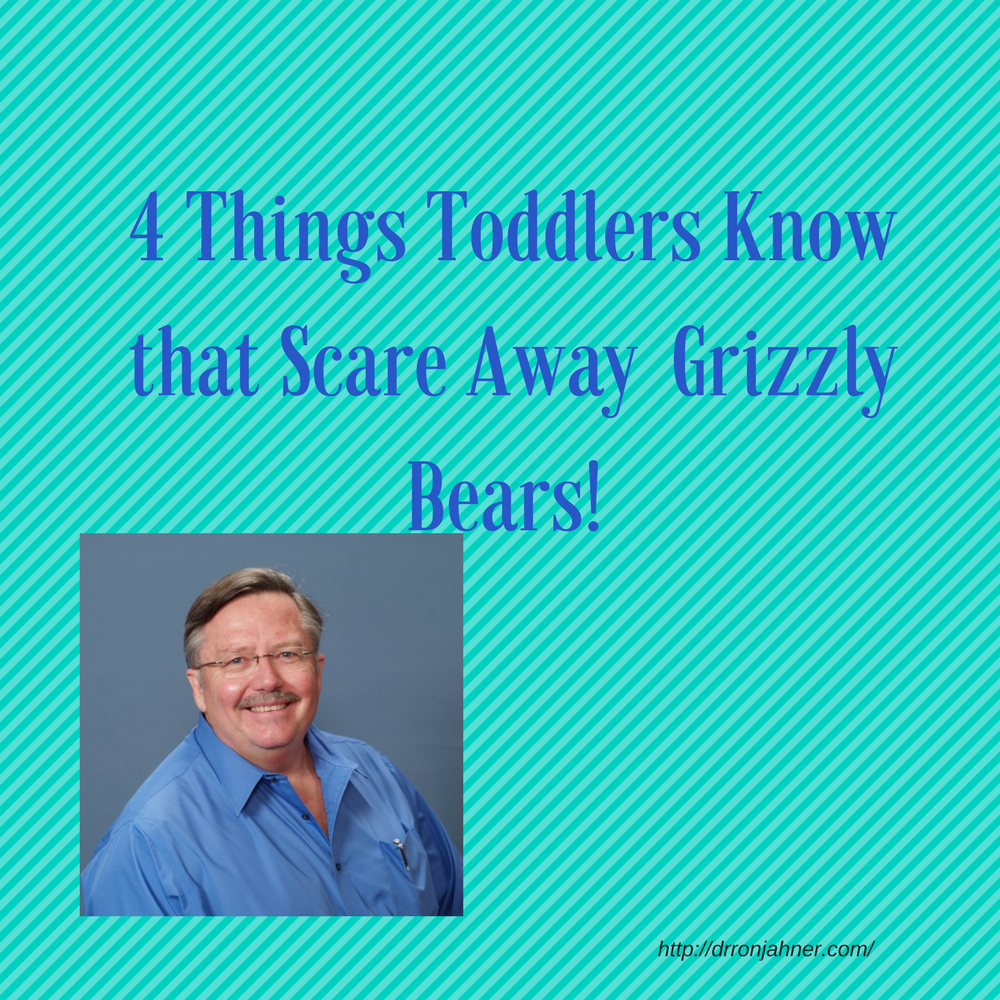 4 Things Toddlers Know that Scare Away  Grizzly Bears! 00036