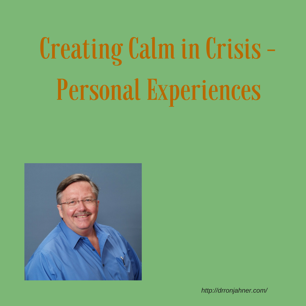 Creating Calm in Crisis - Personal Experiences 00048