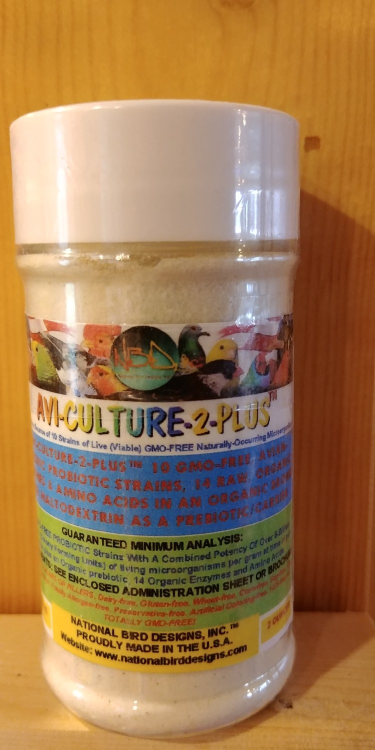 Avi-Culture2 Plus Probiotic 2 oz.