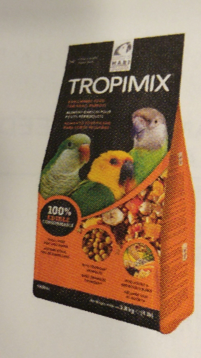 TROPIMIX FOR SMALL PARROTS