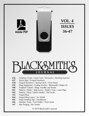 USB Flash Drive - Blacksmith's Journal Vol. 04