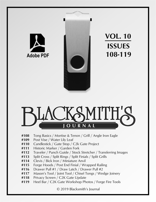USB Flash Drive - Blacksmith's Journal Vol. 10