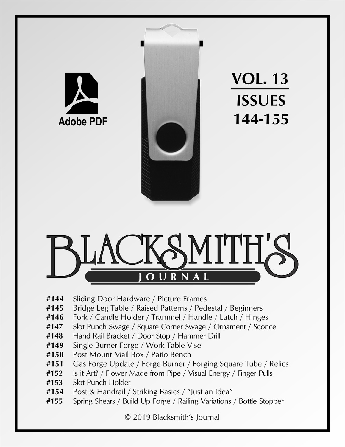 USB Flash Drive - Blacksmith's Journal Vol. 13