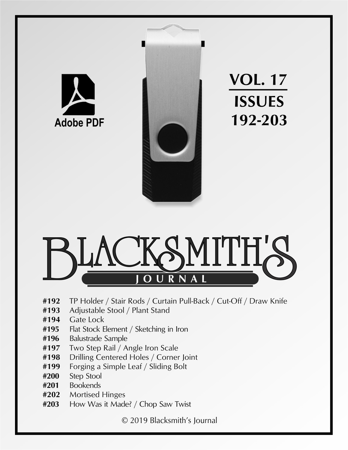 USB Flash Drive - Blacksmith's Journal Vol. 17