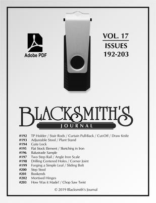 USB Flash Drive - Blacksmith's Journal Vol. 17