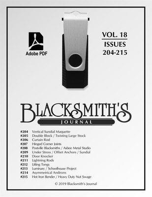 USB Flash Drive - Blacksmith's Journal Vol. 18