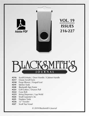 USB Flash Drive - Blacksmith's Journal Vol. 19