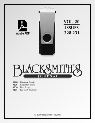 USB Flash Drive - Blacksmith's Journal Vol. 20