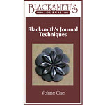 Blacksmith's Journal Techniques - VHS Video 1 VIDEO-VHS-ONE