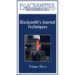Blacksmith's Journal Techniques - VHS Video 3 VIDEO-VHS-THREE