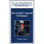 Blacksmith's Journal Techniques - VHS Video 3 VIDEO-VHS-THREE