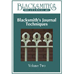 Blacksmith's Journal Techniques - DVD Video Vol. 2 VIDEO-DVD-VOL2