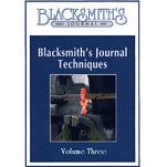 Blacksmith's Journal Techniques - DVD Video Vol. 3
