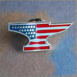 Anvil Flag Lapel Pin AFLP