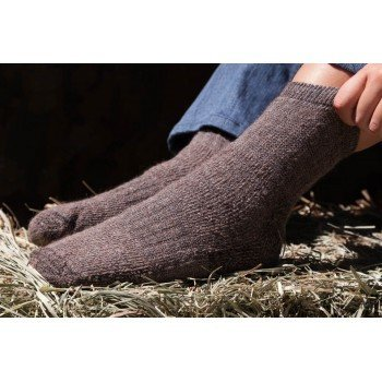 My Yummy Alpaca Sock - Ankle Length   Small/ Mediu