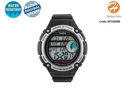 Casio Men's AE-3000W-1AV ساعة كاسيو رجالي