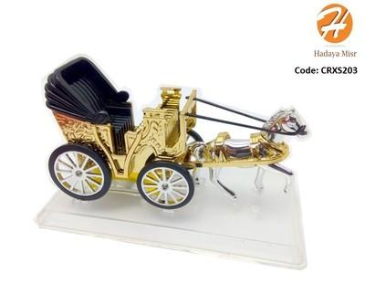 Car Perfume horse  معطر سياره تابلوه حصان بعربة