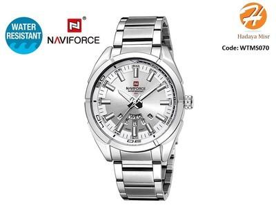 Naviforce Water Resistant Analog Watch for Men ساعة رجالي عقارب