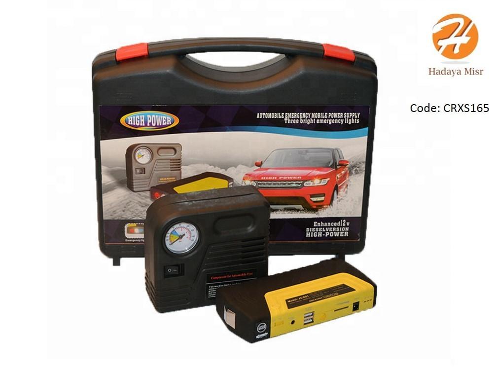 Power Bank 50800mAh Jump Starter Car with compressor  لتشغيل السيارة اثناء عطل البطارية