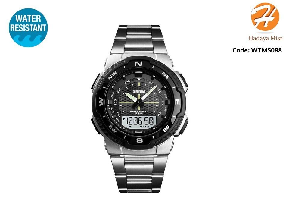 SKMEI Fashion Water Resistant Analog Digital Watch
