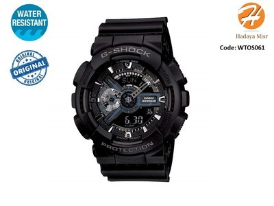 Casio Men's 'G Shock' Watch Model: GA110-1B ساعة كاسيو رجالى