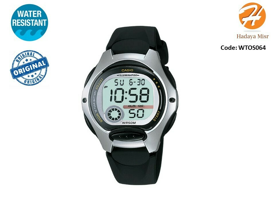 Casio Women's LW200-1A Resin Digital Watch
