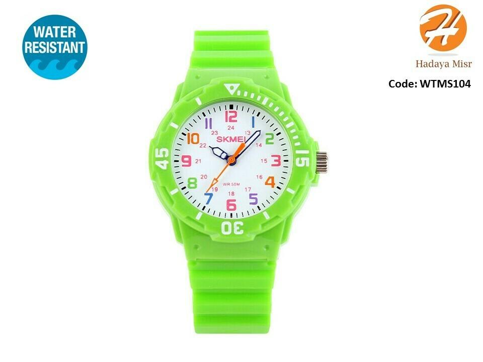 SKMEI Children Sport Water Resistant Analog Watch ساعة عقارب للأطفال