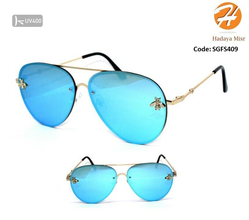 Mirror Fashion Women Sunglasses نظارة فاشون حريمي