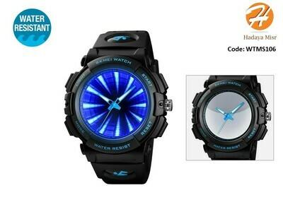 SKMEI Sport Water Resistant analog Watch ساعة رياضية انالوج من سكيمي