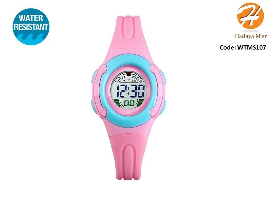 SKMEI Children Girls Sport Water Resistant Digital Watch