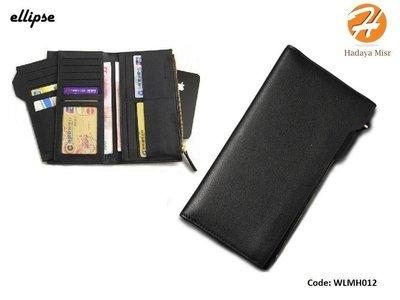 Leather Wallet For Men & Women محفظة جلد طويلة رجالى و حريمي