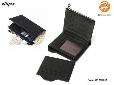 Leather Wallet For Men & Women محفظه جلد رجالى و حريمي