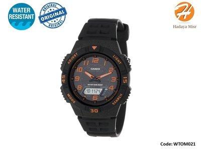 Solar Powered  Casio Men's Watch AQS800W-1B2VCF - ساعة كاسيو بطارية تشحن بالطاقة الشمسية
