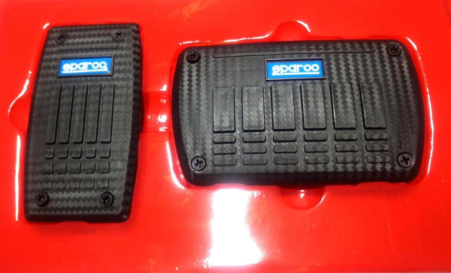 Sparcoo Style Non Slip Pedal Brake Pad Cover for automatic