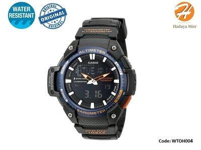 Twin Sensor Analog Casio Men's Watch SGW-450H-2BCF
