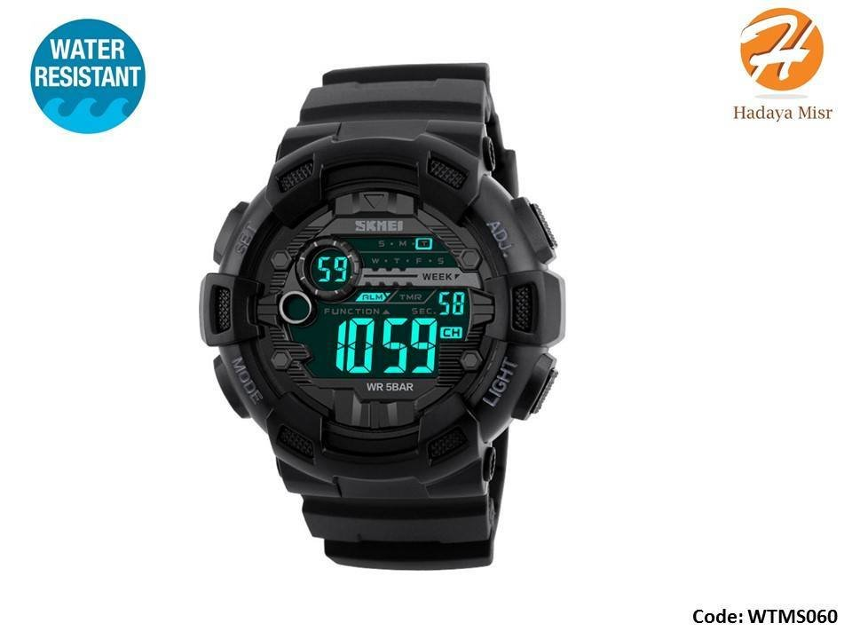 Water Resistant Sport Digital Watch