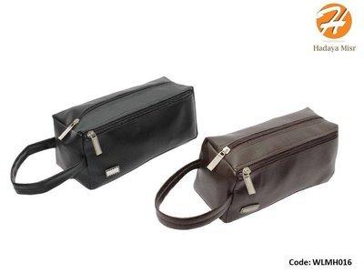 Leather hand bag For Men شنطة يد رجالي جلد خفيف
