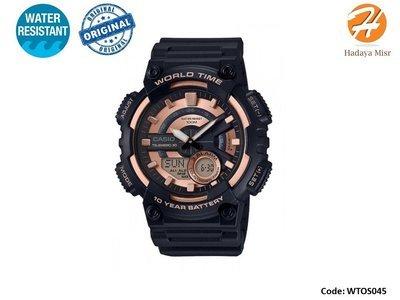 Casio Men Watch Model: AEQ-110W-1A3V ساعة كاسيو رجالي