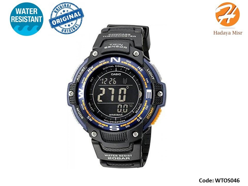 Casio Men's SGW-100-2BCF Twin Sensor ساعة كاسيو رجالى