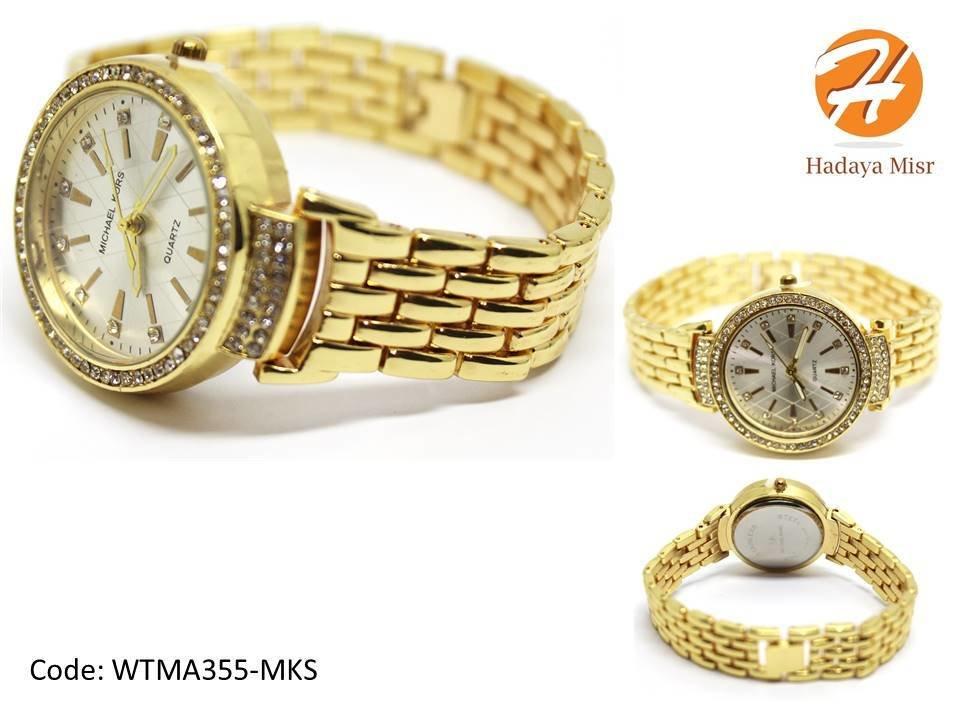 Women's watch in golden color