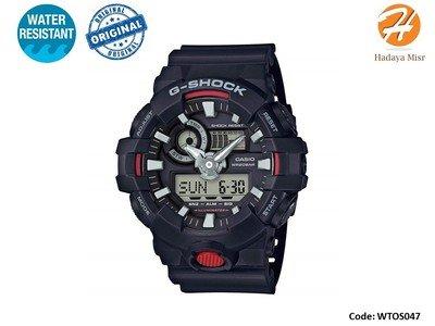 Casio Men's 'G Shock' Watch Model: GA-700-1ACR ساعة كاسيو رجالى