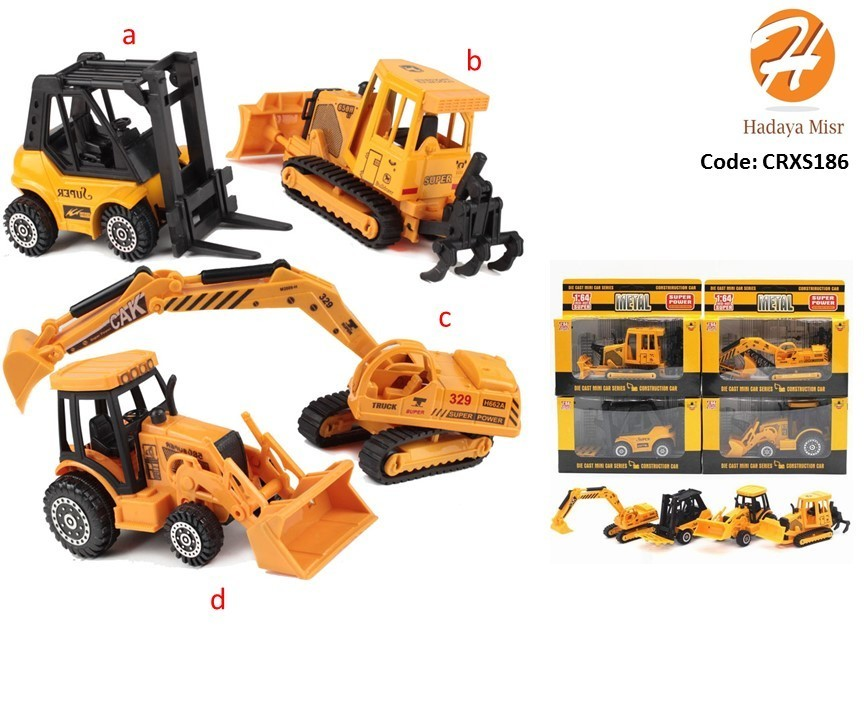 1:64 Construction Car toy نموذج لعبة لعربية ونش ثقيل