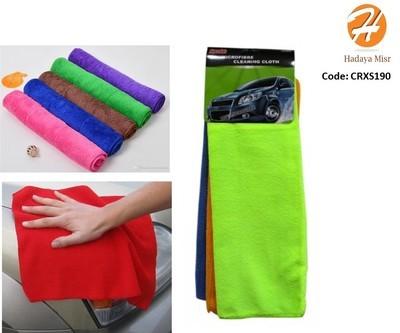 Micro fiber cleaning cloth for car قماشة تنظيف للسيارة