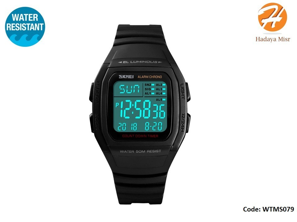 SKMEI Fashion Water Resistant Digital Watch