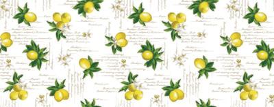 Cкатерть клеенка ПВХ Лимоны