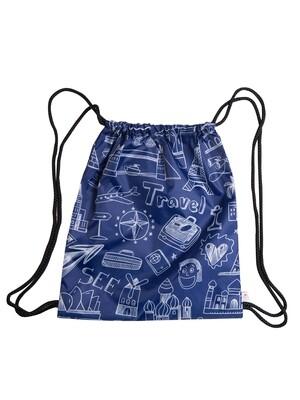 Рюкзак-мешок Travel синяя