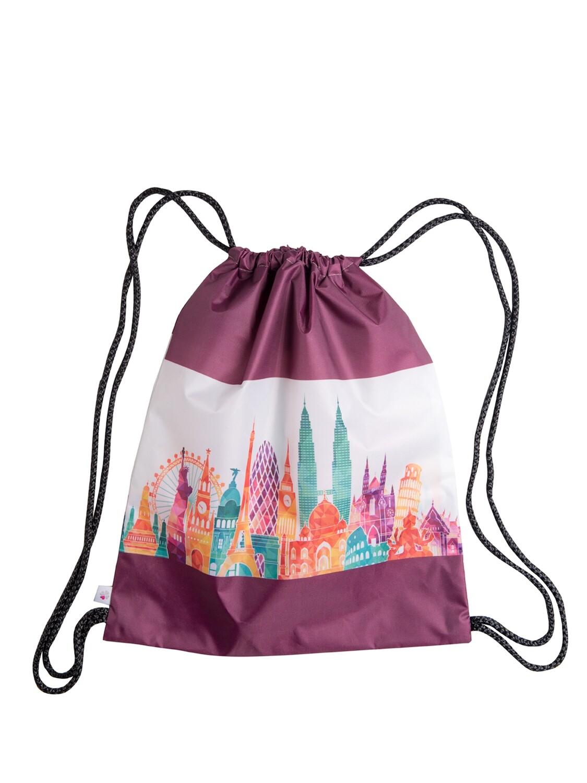 Рюкзак-мешок Городской пейзаж