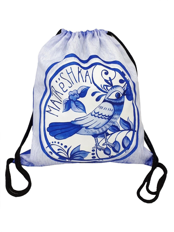 Рюкзак-мешок Гжель