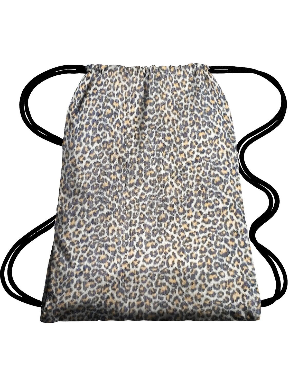 Рюкзак-мешок леопард 35х40